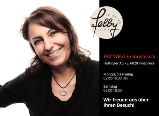 Friseursalon Felby EKZ in Innsbruck